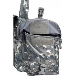 NcStar Tactical 6 Pocket AK Chest Rig - ACU
