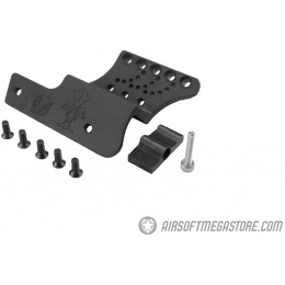 Atlas Custom Works C-More Mount For Hi-Capa Pistols (Type D) - BLACK