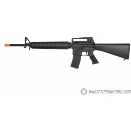 Golden Eagle M16 Lightweight Polymer GBB Airsoft Rifle - BLACK