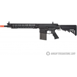 ARES Knight's Armament SR25 DMR Airsoft AEG Rifle - BLACK