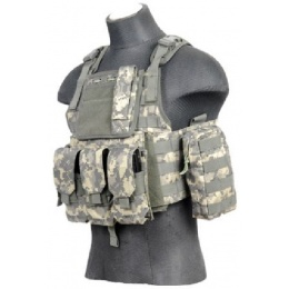 Lancer Tactical CA-305A Gear Plate Carrier Vest (1000D Nylon) - ACU