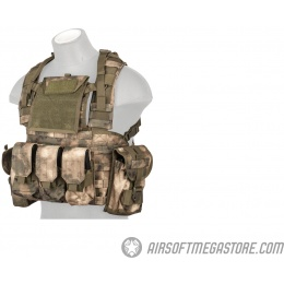 Lancer Tactical M4/M16 MOLLE 1000D Nylon Modular Chest Rig  - AT-FG