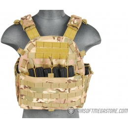 Lancer Tactical 1000D Nylon Airsoft MOLLE Tactical Vest (Camo)
