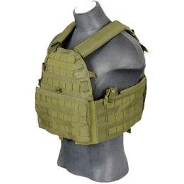 Lancer Tactical 69T4 1000D Nylon Plate Carrier - OD GREEN