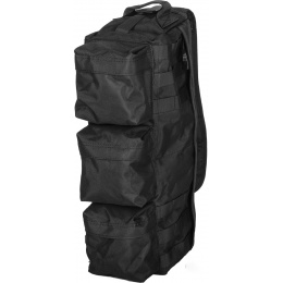 Lancer Tactical Airsoft Utility 1000D Nylon Go Pack Shoulder Bag - BLACK
