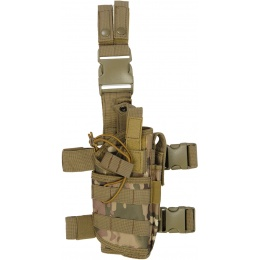 Lancer Tactical Tornado Dropleg Airsoft Pistol Holster - CAMO