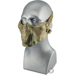 AMA Nylon Lower Half Face Protection Airsoft Mask - ATFG