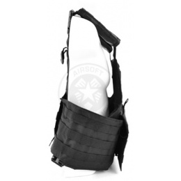 NcStar Tactical MOLLE/PALS Tactical Vest - Black
