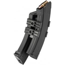 CM-C14 AK 1100rd Electric Winding Hi-Cap Dual Mag w/ Sound Control - BLACK