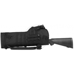 NcStar Rifle Scabbard Protective Gun Case w/ Shoulder Sling - BLACK