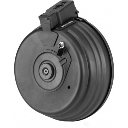 CM-C38 2500rd Electric Winding AK Series Drum Magazine - BLACK