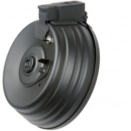 CM-C38 2500rd Sound Control Electric Winding AK Drum Magazine - BLACK