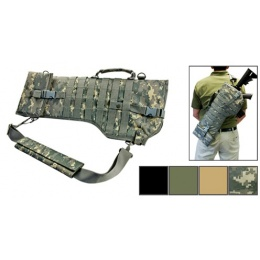 NcStar Rifle Scabbard Protective Gun Case w/ Shoulder Sling - OD GREEN