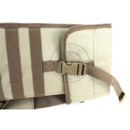 NcStar Tactical Rifle Scabbard w/ Integrated Shoulder Sling - TAN