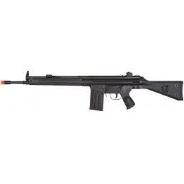LCT Stamped Steel Full Stock LC-3A3-S Airsoft AEG Rifle - BLACK