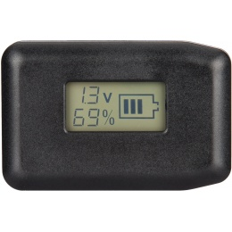 Lancer Tactical LCD Universal LiPo Balance Charger - BLACK