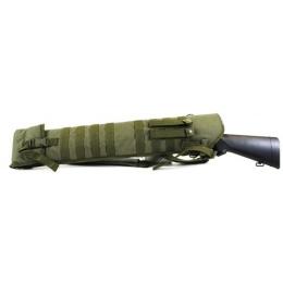 NcStar Tactical Shotgun Scabbard - Protective Gun Case - OD Green