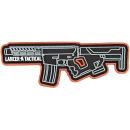 Lancer Tactical LT-29 Glow in the Dark PVC Hook and Loop Morale Patch
