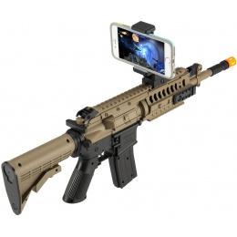 Galaxy G70 AR Interactive Game/Spring Airsoft Rifle - BLACK/DARK EARTH