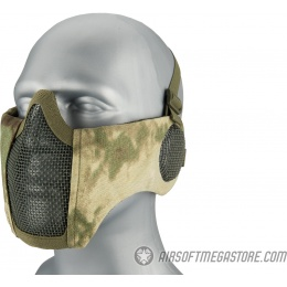 WoSport WST Tactical Elite Mask w/ Ear Protection - AT-FG