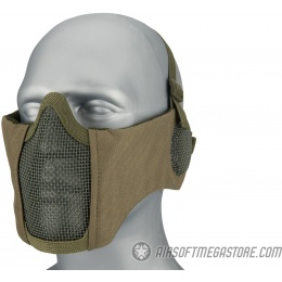 WoSport Tactical Elite Mask Ear Protection Upgrade Version - OD