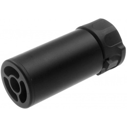 Atlas Custom Works Full Metal SOCOM QD Barrel Extension w/ Flash Hider [MINI] - BLACK