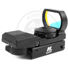 NcStar Tactical Panoramic Red Dot Sight w/ 4 Reticles