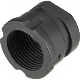 JG Full Metal AK Series Flash Hider - BLACK