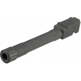 Atlas Custom Works Threaded Outer Barrel for G17 Airsoft Pistols - BLACK