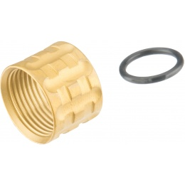 Atlas Custom Works PILLAR Full Metal -14mm Thread Protector - GOLD