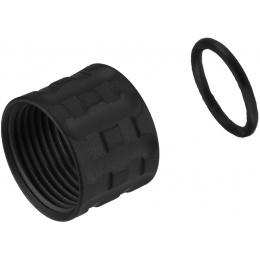 Atlas Custom Works PILLAR Full Metal -14mm Thread Protector - BLACK