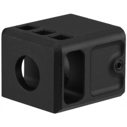 Atlas Custom Works Airsoft Stubby Compensator for G Series GBB Pistols [CCW] - BLACK