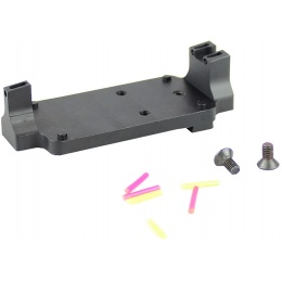 Atlas Custom Works RMR Fiber Sight Base Mount - BLACK