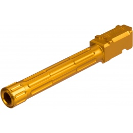 Armory Fluted / Threaded Outer Barrel for G-series GBB Pistols - GOLD