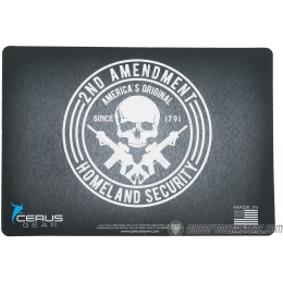 Cerus Gear 2nd Amendment Homeland Security Promat Pistol Mat - BLACK