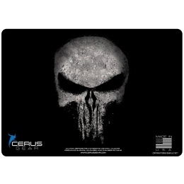 Cerus Gear Reaper Skull Promat Pistol Mat - BLACK