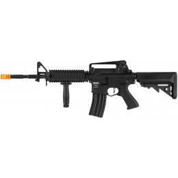 Lancer Tactical LT-04 ProLine Series M4 RIS Airsoft AEG [350 FPS] - BLACK