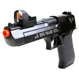 NcStar Tactical Red Dot Scope Compact w/ Heads Up Display - Black