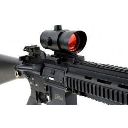 NcStar 5-Intensity Adjustable Red Dot Scope w/ Laser Sighting System
