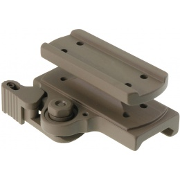 Atlas Custom Works Tactical QD Mount for T1 and T2 - DARK EARTH