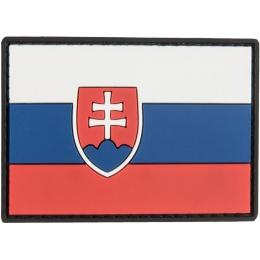 G-Force Slovakia Flag PVC Patch