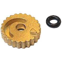Airsoft Masterpiece Brass Hop-Up Adjusting Wheel for Tokyo Marui 4.3/5.1 - BRASS