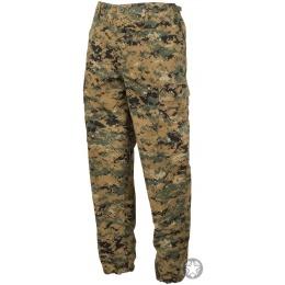 Propper Uniform Ripstop Reinforced MilSpec BDU Pants (SMALL) - WOODLAND DIGITAL