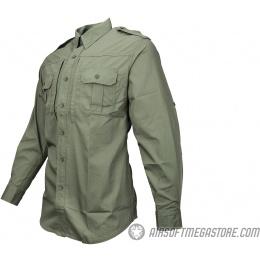 Propper Ripstop Reinforced Tactical Long-Sleeve Shirt (MEDIUM) - OD GREEN