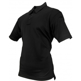 Propper Men's I.C.E. Performance Short Sleeve Polo (LARGE) - BLACK