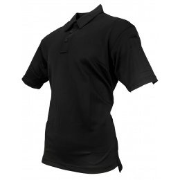 Propper Men's I.C.E. Performance Short Sleeve Polo (X-LARGE) - BLACK
