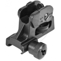 NcStar Airsoft Adjustable/Detachable Weaver Mounted M4 Rear Sight