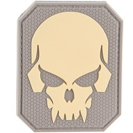 G-Force Large Pirate Skull PVC Patch