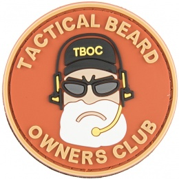 G-Force Tactical Beard Owners Club PVC Patch