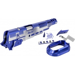 Airsoft Masterpiece Limcat SteelCat Open Slide Kit Set for Hi-Capa - BLUE